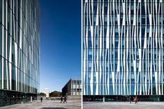 University of Aberdeen new library by Schmidt Hammer Lassen architects in Aberdeen, Scotland ; image © Schmidt Hammer Lassen architects ; @designboom