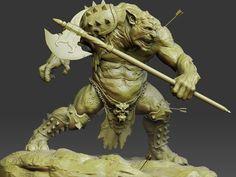 Zbrush troll by dankatcher