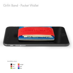 The Grifiti Band Pocket Wallet is about as minimalist as you can get. Instead of plates, the wallet uses your cards as the replacement as it straps your cards and cash together with a high quality silicone band.