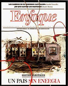 Portada: Decadencia de Infraestructuras. (Suplemente Enfoque, Periódico Reforma, Méx.) Design, Cover Pages
