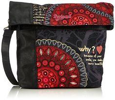 Desigual Ibiza Bolas Rojas Cross Body Bag, Strawberry, One Size: Handbags…