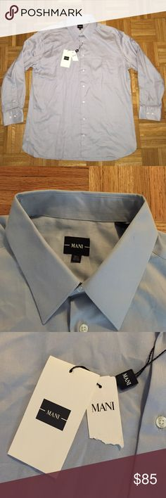 New 16 32/33 Mani by Armani Dress Shirt New with tags Armani Shirts Dress Shirts