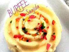 Burfee recipe by Saajida posted on 21 Jan 2017 . Recipe has a rating of by 1 members and the recipe belongs in the Desserts, Sweet Meats recipes category Halal Recipes, My Recipes, Cooking Recipes, Indian Dessert Recipes, Indian Sweets, Indian Recipes, Sweet Meat Recipe, Diwali Food, Food Categories
