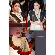 Color: Black, White Collection: Bollywood Replica Top Fabric : Neck Velvet On pattern Embroidery Work, Net + Designer Net Bottom Fabric: Santoon Inner Fabric : Santoon Dupatta Fabric : Chiffon Work : Lace Border, Embroidery Work Style: Long Anarkal