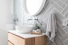 Loughlin Furniture : home Laundry In Bathroom, Bathroom Inspo, Washroom, Bathroom Ideas, Beach House Decor, Home Decor, Beautiful Bathrooms, Bathroom Renovations, Home Interior Design