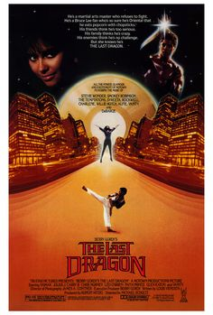 Berry Gordy's The Last Dragon 1985 Movie Poster