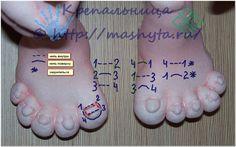 Крепальница — магия рук » Архив блога » МК «Как прошить ноготки на пальчиках»