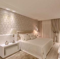 The New Angle On Cozy Romantic Bedroom Decor Just Released - neweradecor Luxury Bedroom Design, Master Bedroom Design, Romantic Bedroom Decor, Modern Bedroom, Indian Home Decor, Suites, Luxurious Bedrooms, Beautiful Bedrooms, House Rooms