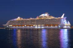 SYMPHONY OF THE SEAS Royal Caribbean International, Royal Caribbean Cruise, Mall Of America, North America, Symphony Of The Seas, Ship Tracker, Jewel Of The Seas, Beach Trip, Beach Travel