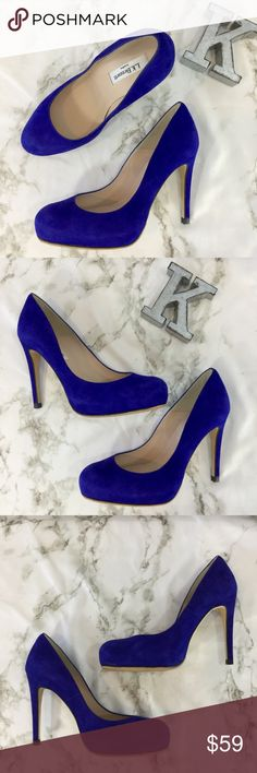 L. K. Bennett London royal blue suede pumps L. K. Bennett London royal blue suede pumps. Size 36. Excellent used condition. Gorgeous color. Sole added to bottom for traction. 4 inch heels.   Please ask any questions. Offers welcome. Thanks for shopping my closet! L. K. Bennett Shoes Heels