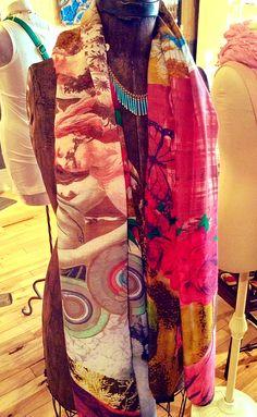 Desigual scarf