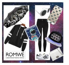 """i'm gonna send you to outta space"" by becasual on Polyvore featuring Mode, River Island, adidas Originals, Casetify, Skinnydip und imgonnasendyoutoouttaspace"