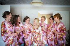 Personalised wedding robes by The Little Lovebird The Personalised Wedding  Specialists  robe  bride   883e011a5