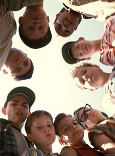 Sandlot is one of the best kids films. I grew up on this & can pretty much quote it all....
