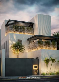 Small House Exteriors, Modern Exterior House Designs, Modern House Facades, Modern Villa Design, Dream House Exterior, Modern Architecture House, Small Modern Houses, House Arch Design, 3 Storey House Design