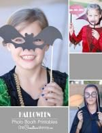 Halloween Photo Booth Props {Printables}