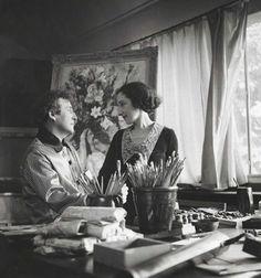 Bella and Marc Chagall in Paris, circa 1938