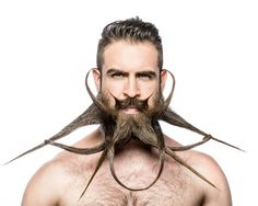 Le bizzarre acconciature di #barba di Mr #Incredibeard  KEBLOG