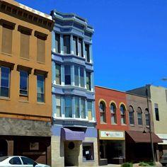 Civil War era architecture, Main Street, Freeport IL - @frankyboy1- #webstagram
