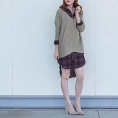 It's all about the |Layers| Shop these items & more online! www.shopelysian.com Raven Ribbed Knit in Khaki $62. Online  in-store. Plaid Pocket Tunic Dress in Plum $49.99 online  in-store. Must Have Mule Bootie In Heather $89.99. online  in-store. #WearElysianDaily http://ift.tt/2dm9V3P It's all about the |Layers| Shop these items & more online! www.shopelysian.com Raven Ribbed Knit in Khaki $62. Online  in-store. Plaid Pocket Tunic Dress in Plum $49.99 online  in-store. Must Have Mule Bootie…