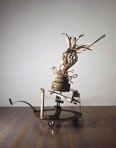jean tinguely | Tumblr Jean Tinguely, Nouveau Realisme, Spirits Of The Dead, Alexander Calder, Kinetic Art, Man Ray, Automata, Op Art, Floral Design