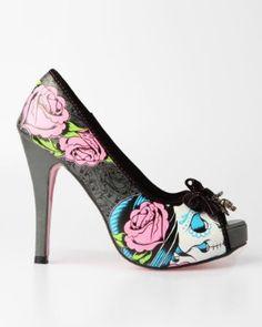 Iron Fist Sugar Platform Shoe  must have these!!