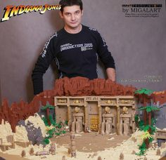 Lego Indiana Jones and the Temple of Kings by migalart on Flickr.