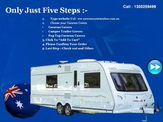 you can order caravan Covers only just click to five steps