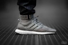 Adidas Ultra Boost Wool Grey - 2015 - mens brown shoes, dress casual shoes mens, free mens shoes