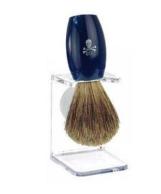 Privateer Badger Brush and Stand, Shaving Brush Kit from Bluebeards Revenge - The Emporium Barber
