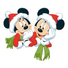Disney And Cartoon Christmas Clip Art Images