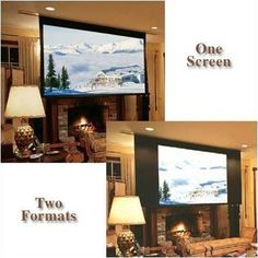 """106004 Access Multiview/Series E Motorized Masking Projection Screen System - 65 x 116"""" by Draper. $2229.99. 106004 Features: -Ceiling-recessed, motorized projection screen with independently motorized masking system installed in the same case for dual format projection..-Flat black mask on second motor-in-roller converts the projection screen to a 4:3 NTSC format by masking the right and left sides of the viewing surface..-Height of viewing surface remains cons..."""