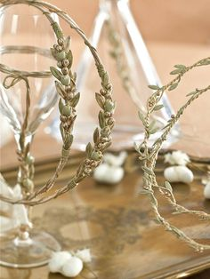 Buy Greek wedding favors, Orthodox crowns stefana, Christening bombonieres and Invitations by Precious and Pretty in Greece Wedding Wishes, Wedding Favors, Wedding Decorations, Wedding Crowns, Wedding Ideas, Wedding Hair, Greek Wedding Traditions, Olive Wedding, Orthodox Wedding
