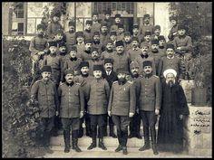 جنود عثمانيون متمركزون في فلسطين، الإمبرطورية العثمانيةز Ottoman Troops stationed in Palestine, WWI.