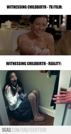 So true! I remember watching birthing videos in Bio 2 and man that was gross!