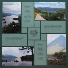 My Heart's in the Highlands - Scrapbook.com