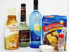 Birthday Cake Shots #ingredients #recipe