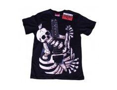 Tricou Sound of the Underground model Guitarist Skull