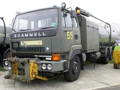 Scammell fuel tanker Commercial Vehicle, Vintage Trucks, British Army, Skin So Soft, Commonwealth, Us Travel, Military Vehicles, Techno, Weapons