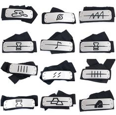 Naruto Kunai Shuriken Leaf Headband Akatsuki Ring Ninja Gloves Bag Itachi Kakash