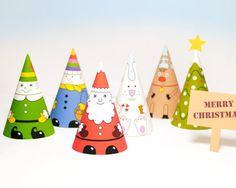 聖誕3D紙娃娃 - 印了玩 - 親子就醬玩