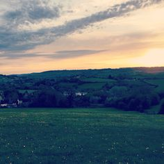 View from Rudloe to Box