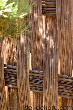 A woven fence is a very interesting fencing of the site or decorative training of the front garden in the backyard or cottage area. The technology of making wicker hedges has been preserved since ancient times, when the wattle fence was the most widespread kind of economic fences. Traditional...