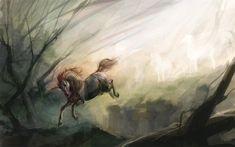 Unicornio, de SnowSkadi