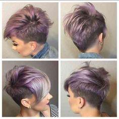 10 Besten Undercut Frisuren Frauen Bilder Auf Pinterest Pixie Cut