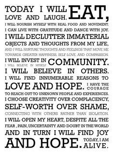 being alive-manifesto