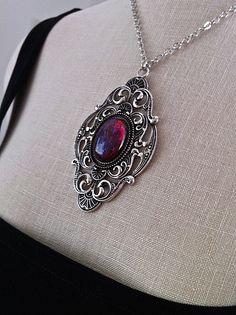 Goth Jewelry, Fantasy Jewelry, Antique Jewelry, Antique Silver, Diy Victorian Jewelry, Fashion Jewelry, Saphir Rose, Gothic Wedding, Victorian Gothic