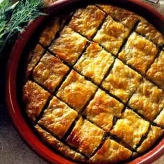 Aubergine pie with cheeses (melitzanopita) - iCookGreek Greek Meze, Greek Spinach Pie, Greek Pastries, Greek Cooking, Greek Dishes, English Food, Food N, Group Meals, Mediterranean Recipes