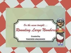$  Rounding Large Numbers at Marge's Diner - PowerPoint Lesson and Test Prep.  By Teachers Unleashed