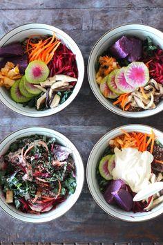 vegan quinoa bowl